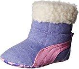 Puma Chiffon Faux Fur Lined Boots Purple 3