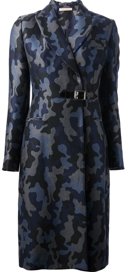 Christopher Kane camouflage coat