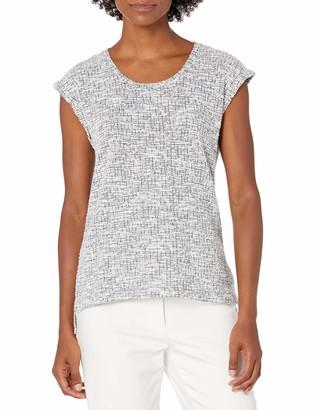Jones New York Women's Sleeveless Muscle Sleeve Tee Shirt