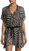 MICHAEL Michael Kors Printed Cover-Up Tunic