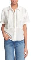 Frame Women's 'Le Cropped' Cotton Top