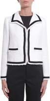 Moschino Jacket With Trim In Contrast Colour