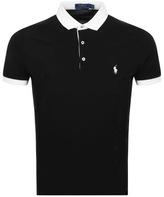 Ralph Lauren Contrast Polo T Shirt Black