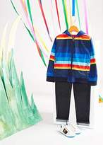 Paul Smith Boys' 2-6 Years Multi-Coloured Stripe Reversible Zebra-Logo Jacket