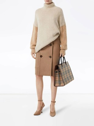 Burberry Mohair Turtle Neck Sweater