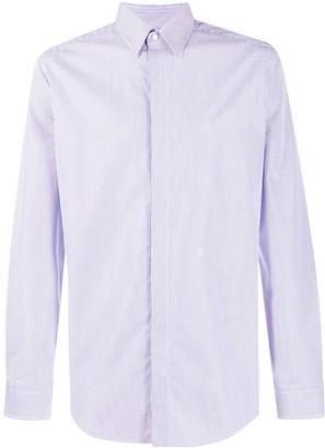 Fendi Concealed Placket Striped Shirt