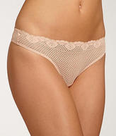 Timpa Duet Lace Low Rise Thong Panty - Women's