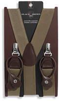 Black Brown 1826 Convertible Suspenders
