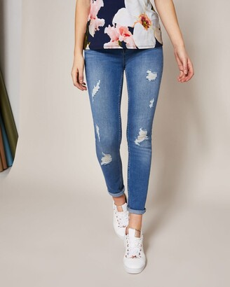 Ted Baker Ripped Skinny Jeans