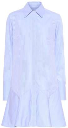Victoria Victoria Beckham Striped cotton minidress
