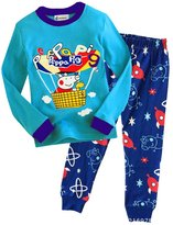 LEMONBABY® Boys Peppa Pig Pants Pajamas Sets (6y, )