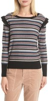 Joie Women's Cais C Stripe Wool & Cashmere Sweater