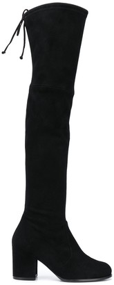 Stuart Weitzman Tieland 65mm over-the-knee boots