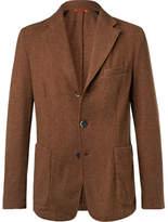 Barena Unstructured Wool-blend Blazer - Brown