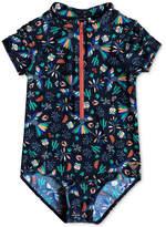 Roxy 1-Pc. Bird-Print Swimsuit, Little Girls