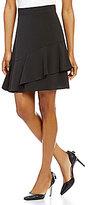 Antonio Melani Britt Crepe Flounce Overlay Skirt