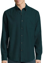 ST. JOHN'S BAY St. John's Bay Long-Sleeve Classic-Fit Flannel Shirt