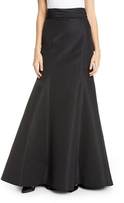 Carolina Herrera Waist Knot Trumpet Skirt