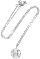 Carolina Bucci Pisces Lucky 18-karat White Gold Multi-stone Necklace - one size