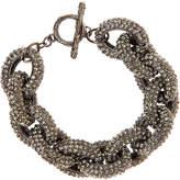 Natasha Accessories Natasha Crystal Pav Link Bracelet