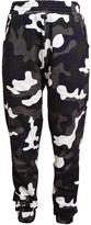 Christopher Kane Camouflage Printed Jersey Sweatshirt Pants