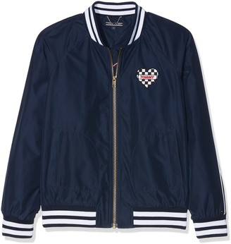 Tommy Hilfiger Girl's AME S Bright Bomber Jacket