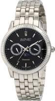 August Steiner Men's AS8050SSB Analog Display Swiss Quartz Silver Watch