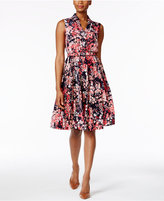 Charter Club Petite Floral-Print Shirtdress, Only at Macy's