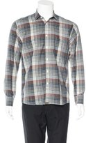 Billy Reid Plaid Woven Shirt
