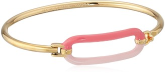 Marc by Marc Jacobs Bright Rose Bubble Hinge Cuff Bracelet 2.25""