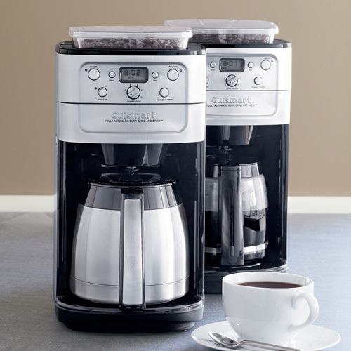 Cuisinart Grind and Brew 12-Cup Coffee Maker Model DGB-700BC