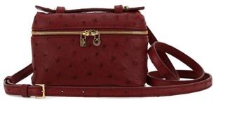 Loro Piana Ostrich Extra Pocket L14 Cross-Body Bag