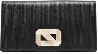 Missoni Oversized Leather Clutch Bag