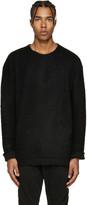Diet Butcher Slim Skin Black Asymmetric Sweater