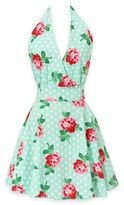 Carolyn's KitchenFloral Swing Apron in Mint