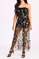 Freesia Sheer Floral Maxi