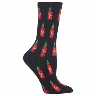 Hot Sox Hot Sauce Crew Socks One Size