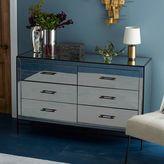 west elm Mirrored 6-Drawer Dresser