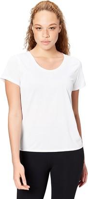 Core 10 Amazon Brand Women's 'Lighter Than Air' Performance T-Shirt (XS-XL Plus Size 1X-3X)