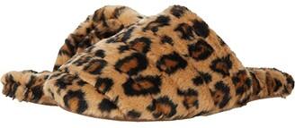 Madewell The Scuff Slipper (Leopard Faux Fur) Women's Slippers