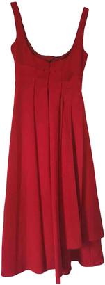 Awake Red Polyester Dresses