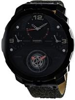 Diesel Machinus DZ7358 Men's Round Grey Canvas Watch
