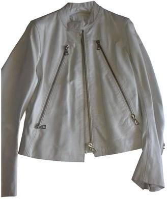 Maison Margiela Beige Leather Jackets