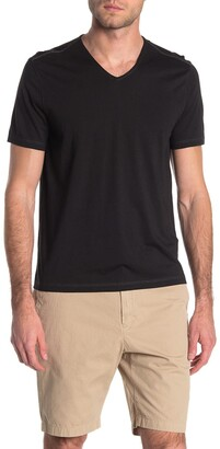 John Varvatos Short Sleeve V-Neck T-Shirt