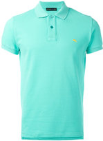 Etro logo embroidered polo shirt - men - Cotton - L