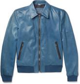Dolce & Gabbana - Leather Bomber Jacket