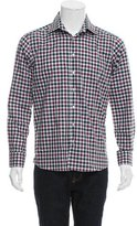 Etro Plaid Button-Up Shirt