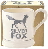 Emma Bridgewater Silver Fox Half Pint Mug with Box, Grey/White, 310ml