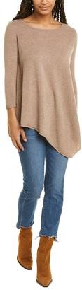 Magaschoni M Handkerchief Wool & Cashmere-Blend Tunic