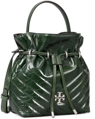 Tory Burch Kira Chevron Textured Mini Bucket Bag
